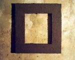 zemlianaya rama / d.savin / 28x25 inner dimension, 46x43 outer dimension, 1991-2004