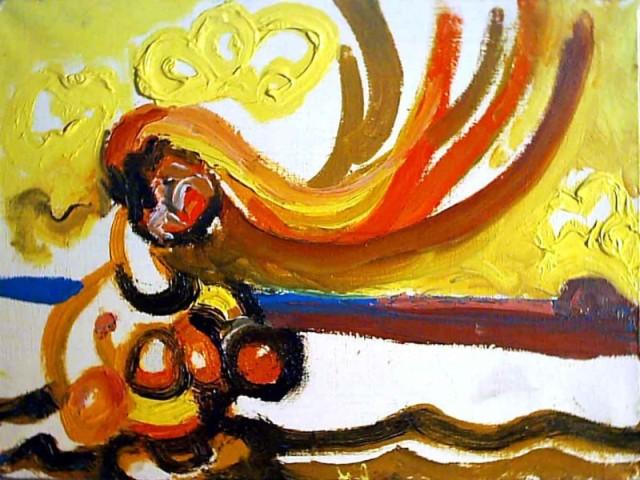 ... / ustiugov genka afanas / oil on canvas / 18x24, 2004